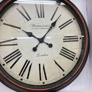 "NIB 24"" XL Westminster London Clock"
